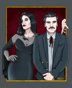 The New Addams Family, my dream cast for an Addams Family reboot: Jessica Chastain & Oscar Isaac