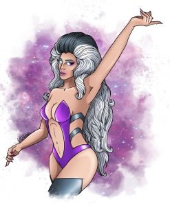 Sindel Edwards, she whips her hair back and forth.. FATALITY