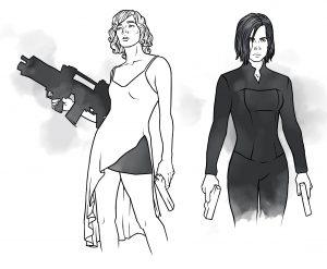 Gun-Queens